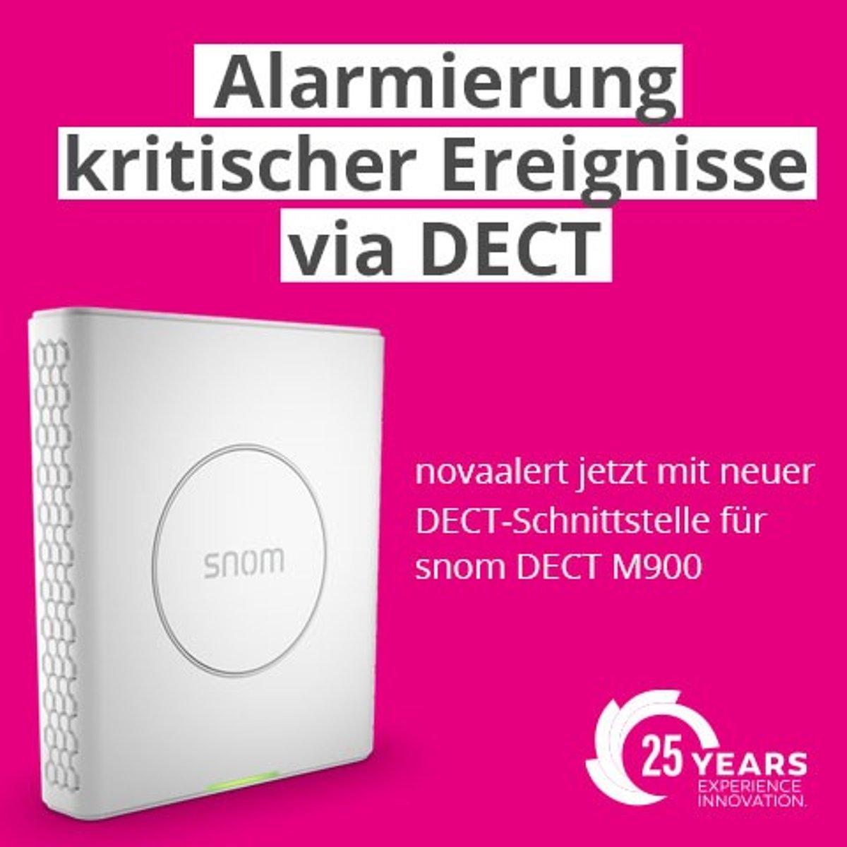 Neue DECT-Schnittstelle für snom DECT M900