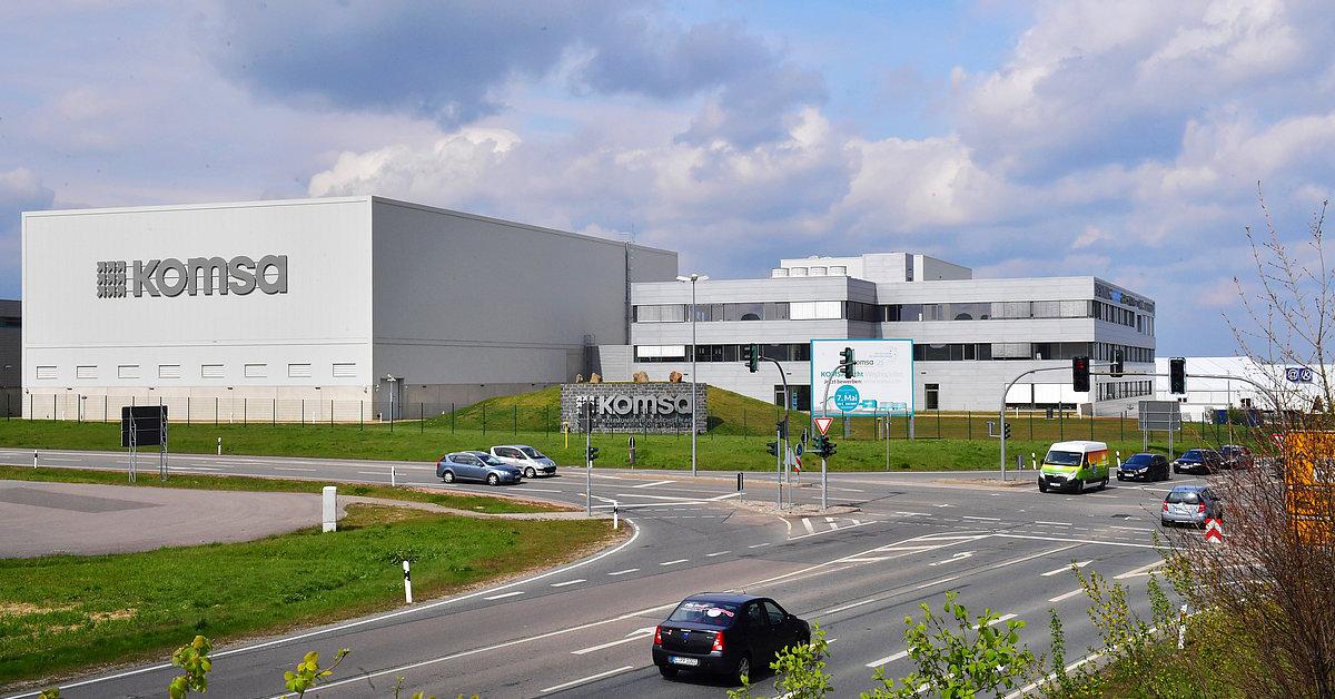 KOMSA AG in Hartmannsdorf
