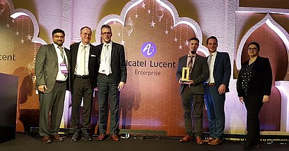 Connex 20 in Dubai - KOMSA ist für Alcatel-Lucent Enterprise Best Partner 2019 in der Region Europe North