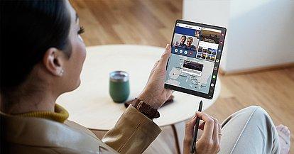 Banner Galaxy Z Fold3 5G Business Edition