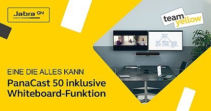 PanaCast 50 inklusive Whiteboard-Funktion
