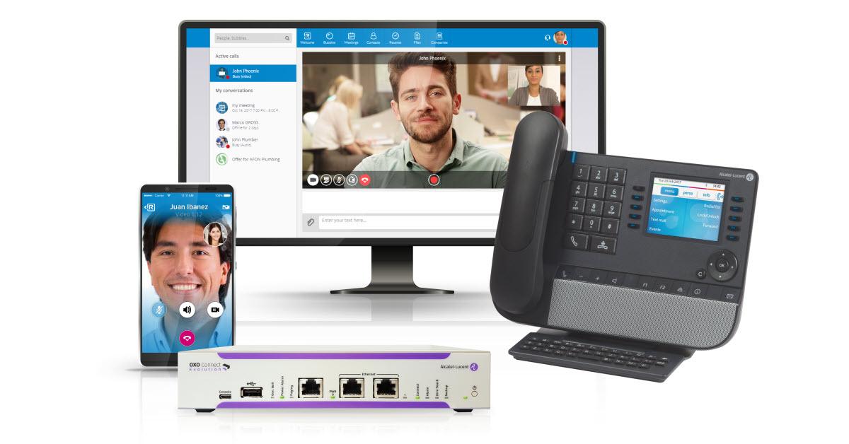 Alcatel-Lucent Enterprise Kommunikationsplattformen
