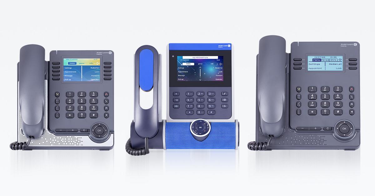 Alcatel-Lucent Enterprise Tischtelefone