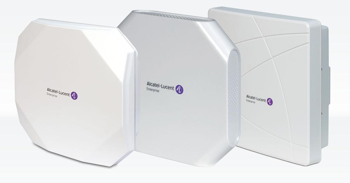 Alcatel-Enterprise Lucent Netzwerktechnik WLAN