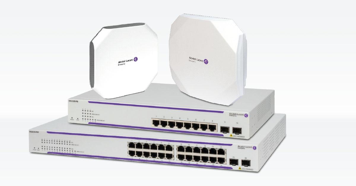 Alcatel-Enterprise Lucent Netzwerktechnik