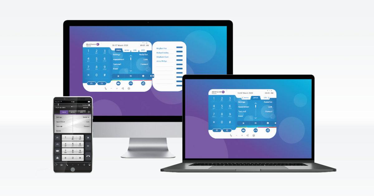 Alcatel Kommunikationslösungen IP-Desktop Softphones