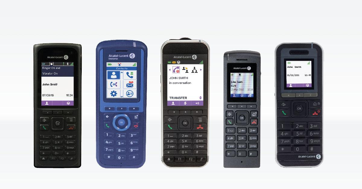 Alcatel Kommunikationslösungen mobile Endgeräte
