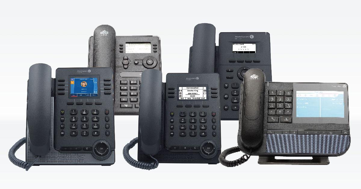 Alcatel Kommunikationslösungen SIP-Telefone