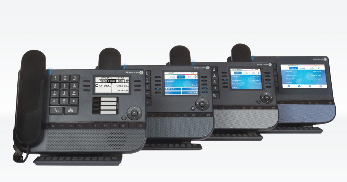 Alcatel Kommunikationslösungen Tischtelefone