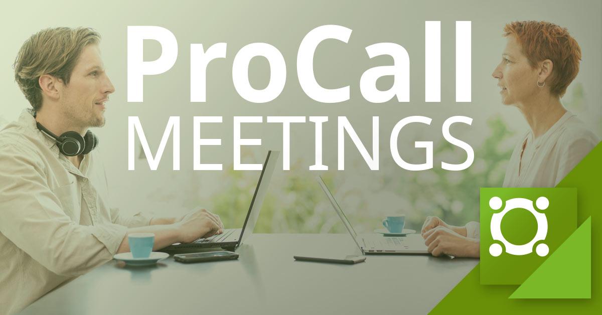 estos ProCall Meetings