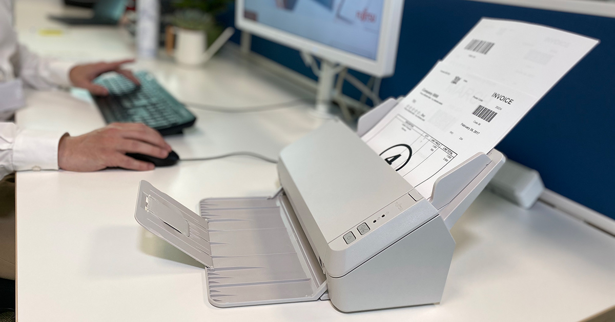Fujitsu Dokumentenscanner