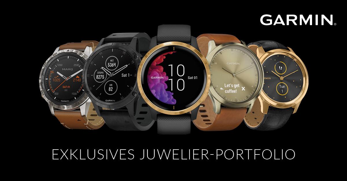Garmin Juwelier Portfolio Smartwatches