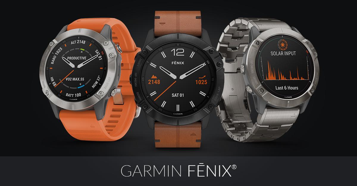 Garmin Smartwatch FENIX