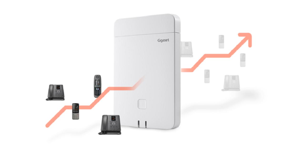 Gigaset N670 IP PRO wird zur Mini-Multizelle