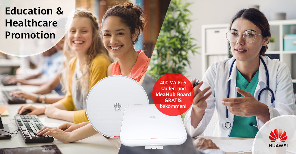 Healthcare Wi-Fi 6 Promotions