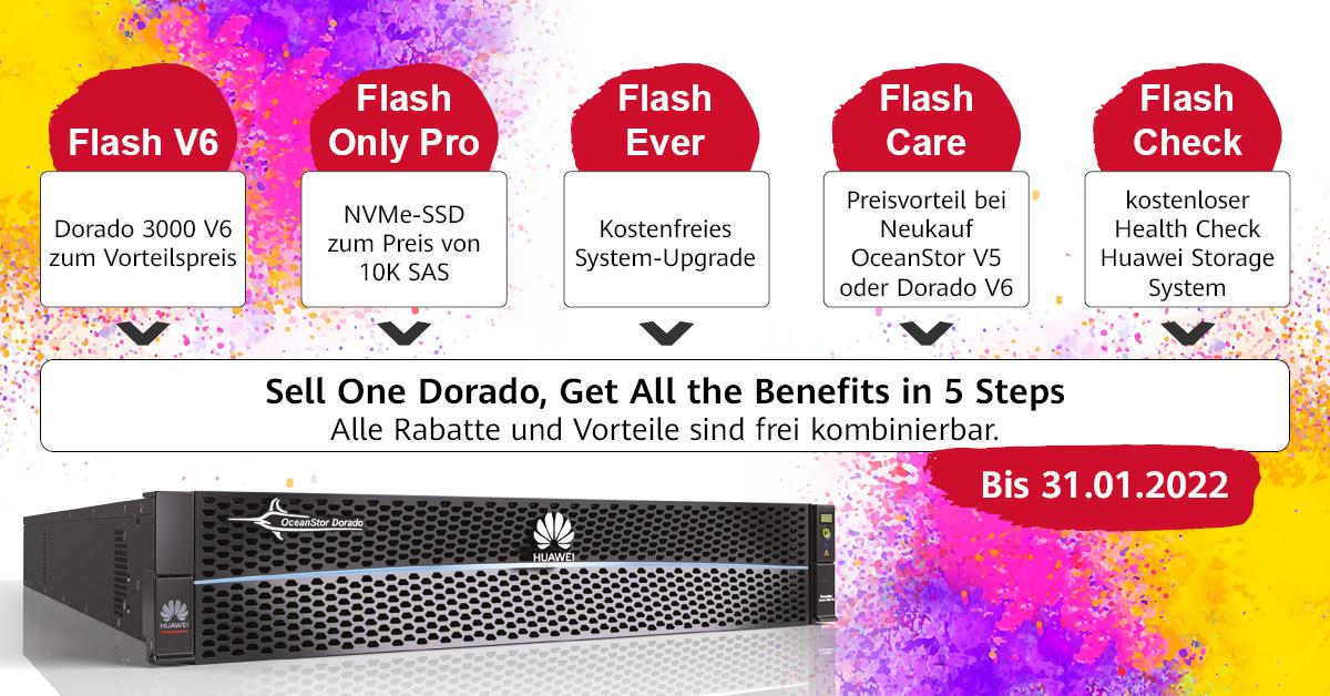 Huawei All-Flash Storage Promotion