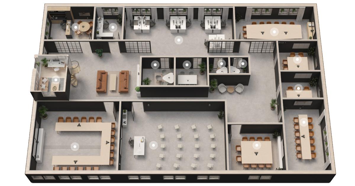 Interaktiver Floor-Plan
