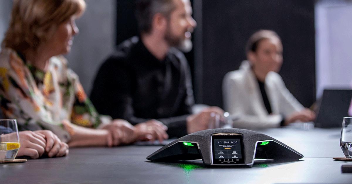 Perfekte Remote-Konferenzen mit Konftel