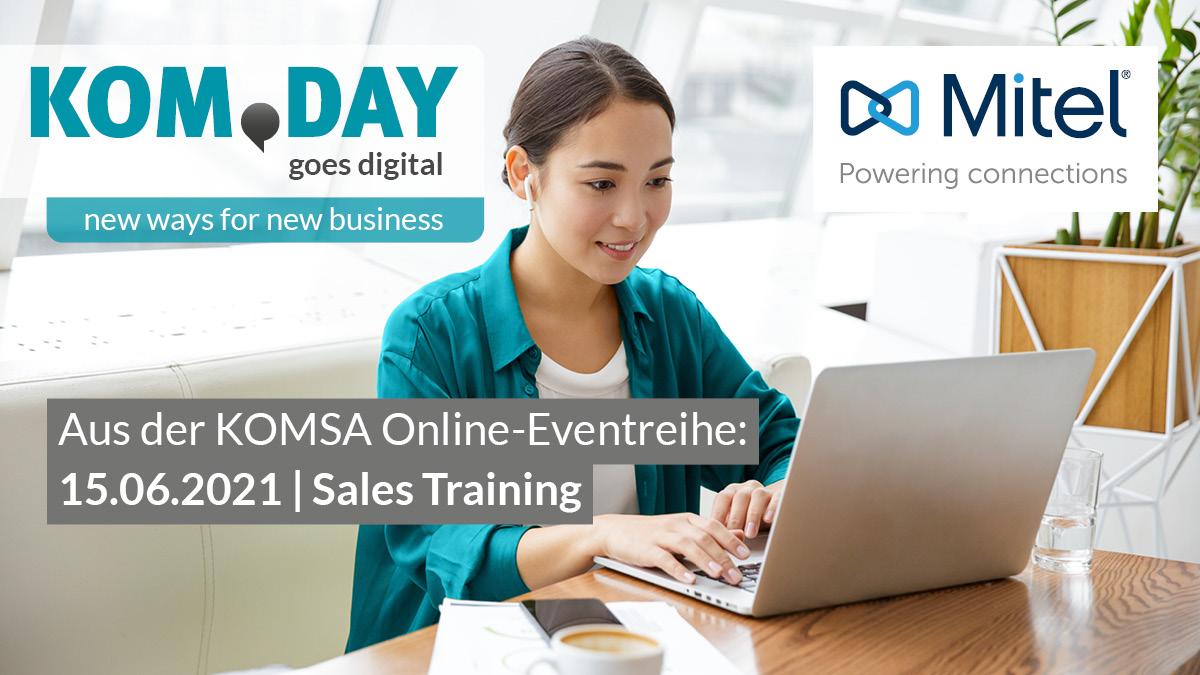 KOM.DAY Sales Training – Mitel