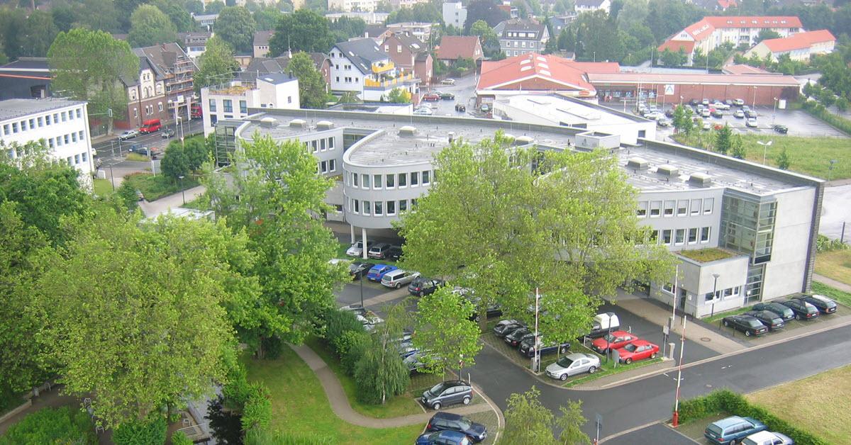 KOMSA Gebäude in Kamen