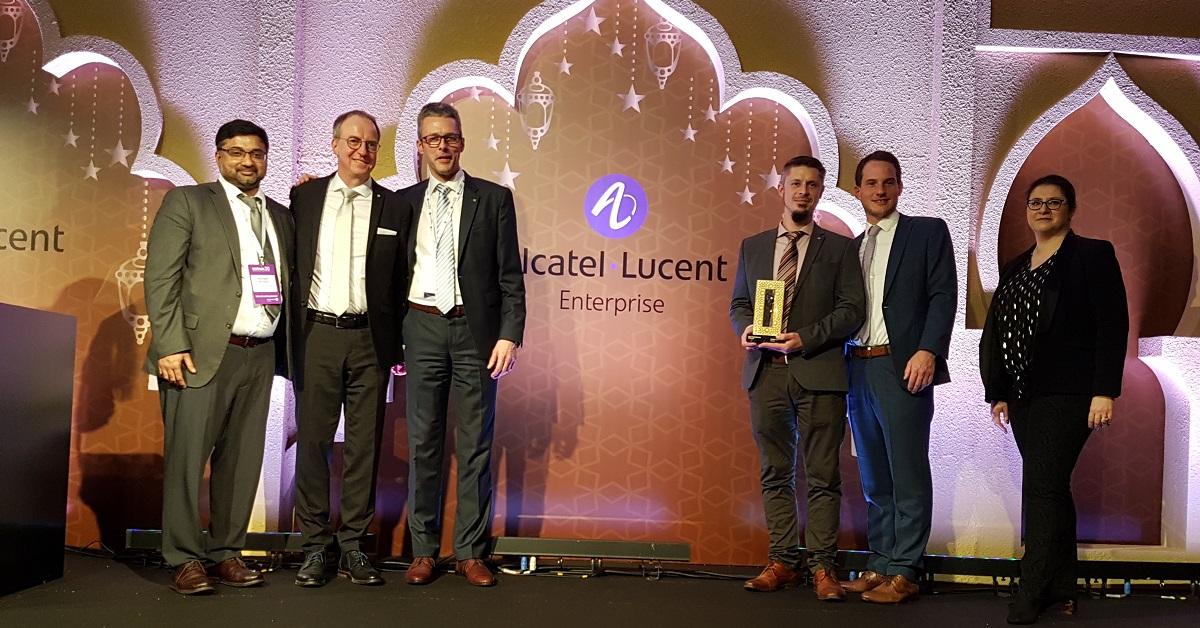 Connex 20 in Dubai - KOMSA ist für Alcatel-Lucent Enterprise Best Partner 2019 in der Region Europe North