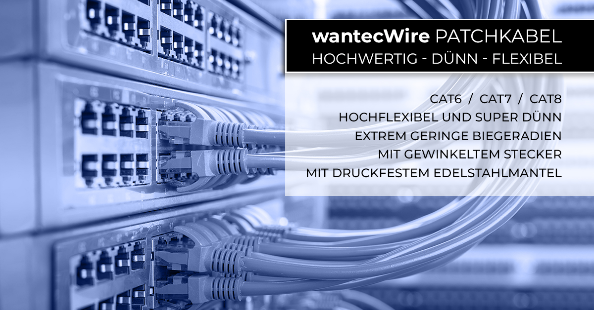 wantecWire Patchkabel