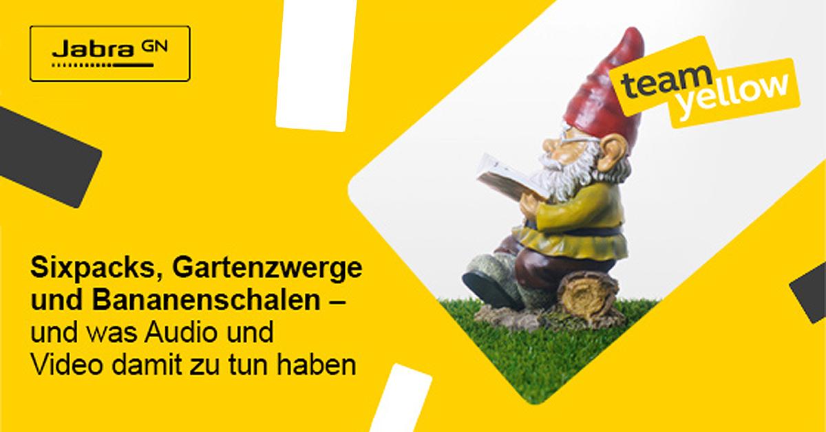Jabra Banner Gartenzwerg