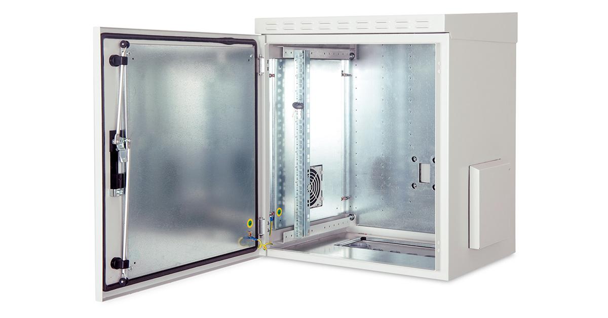 DIGITUS Wandgehäuse IP55 - zur Anwendung im Außenbereich - 600x450 mm (BxT)