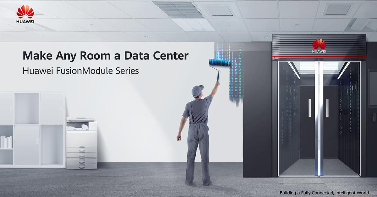 Datencenter-Einrichtung mit Huawei