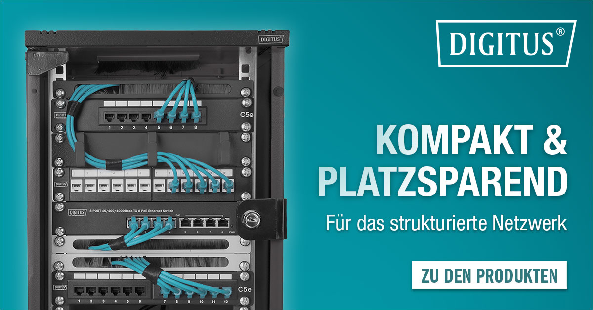 Netzwerkgehäuse zur Wandmontage von DIGITUS®