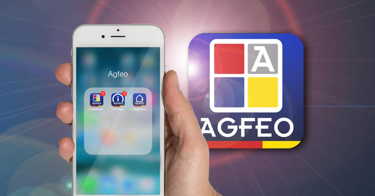 AGFEO Banner Mobiltelefon-Integration