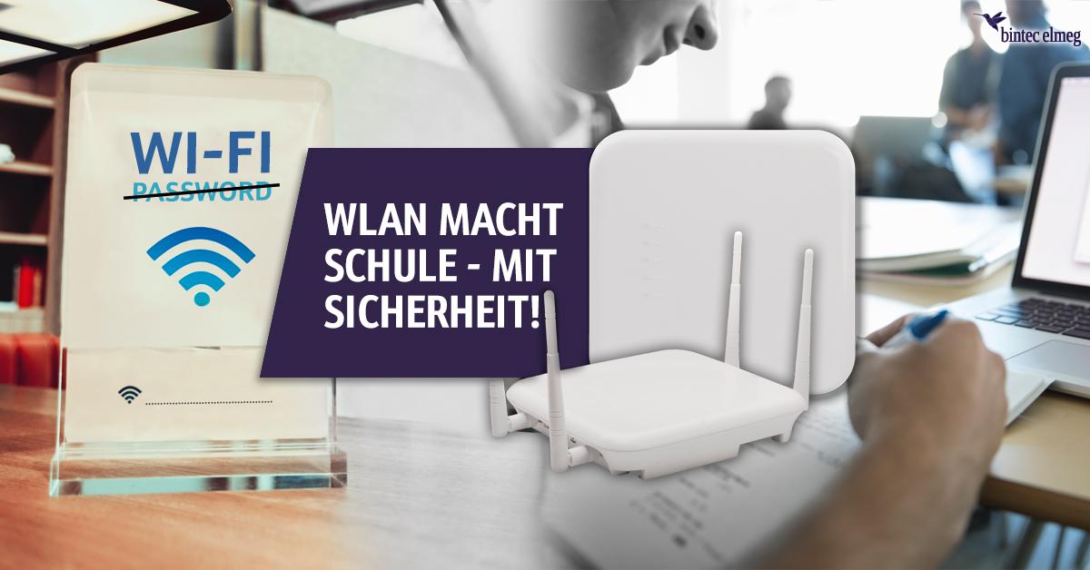 bintec WLAN-Lösungen Schuler Banner