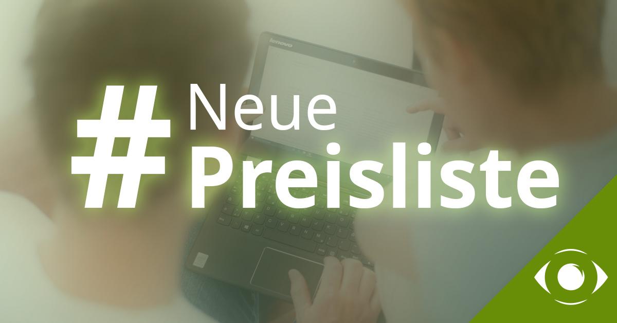 Neue estos Preisliste